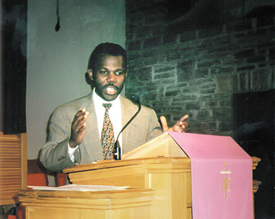 Ernest-preaching-2000
