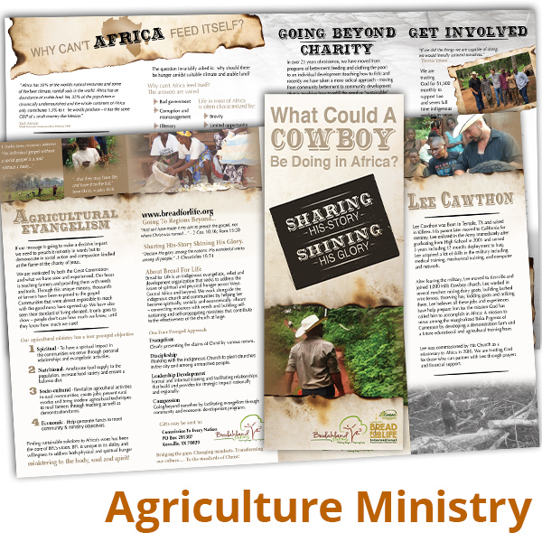 Agricultural Ministry–A Cowboy in Africa