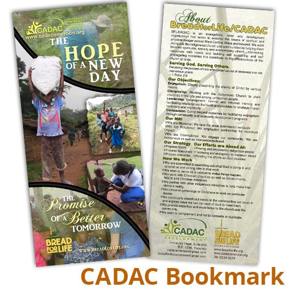 CADAC Bookmark