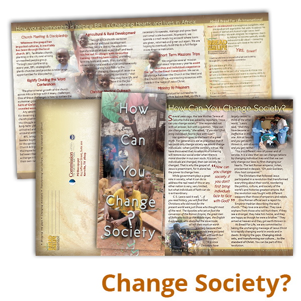 How Can You Change Society?